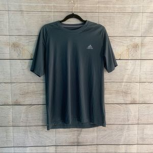 Adidas Dark Gray Work Out Top